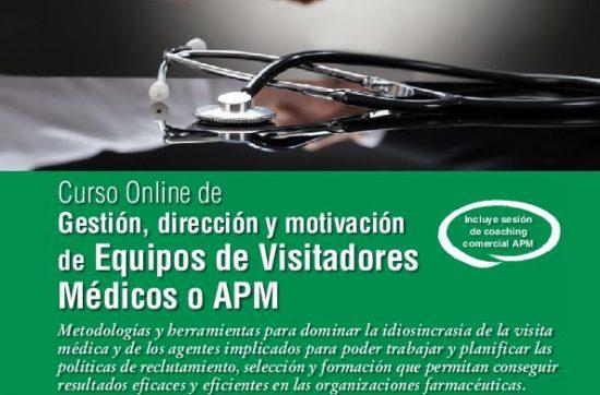 Gestión, dirección y motivación de equipos de visitadores médicos o APM